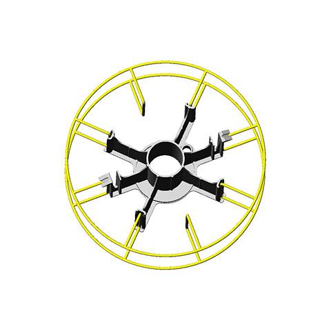 Adapter f. Korbspule 15 kg (Type 3)