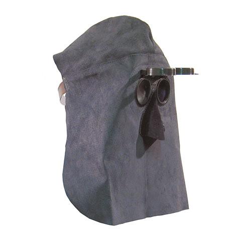 Schutzhaube mit Klappbrille, mit Nase, dia. 50 mm