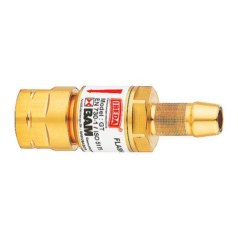 """Einzelflaschens. GT  Sauerstoff Schlauch 6,3 mm G1/4""""RH"""