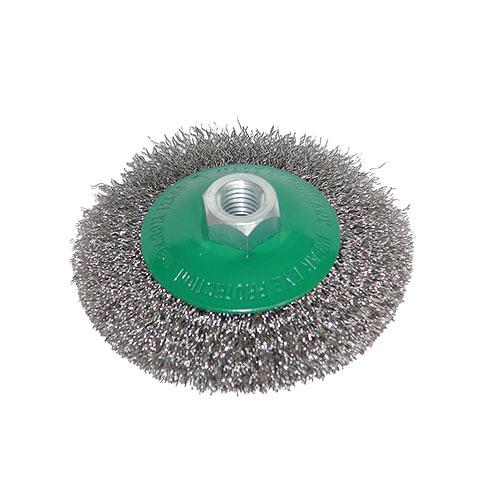 Kegelbürste Stahldr. rostfrei, nicht gezopft