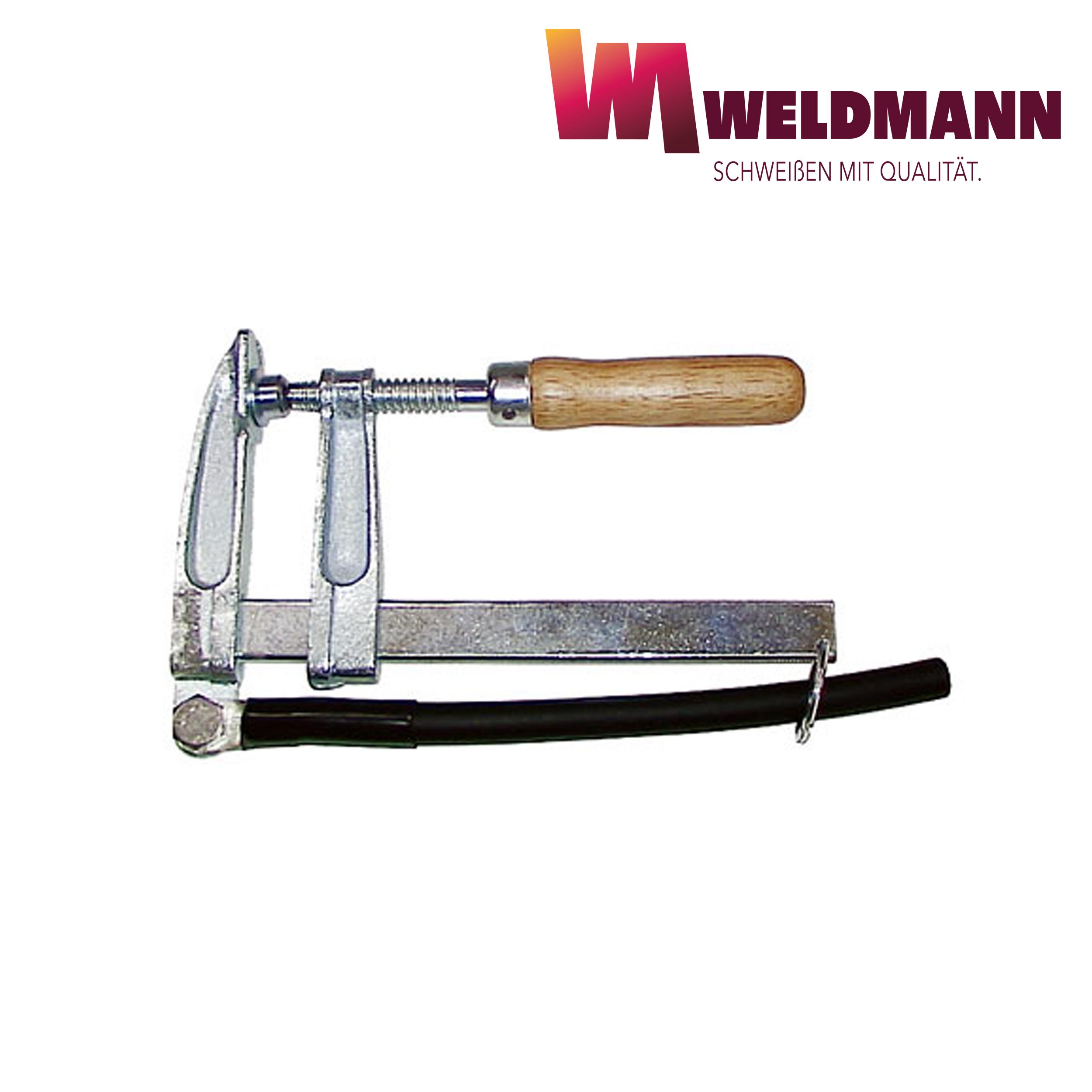 Polzwinge mit Holzgriff, 400 A