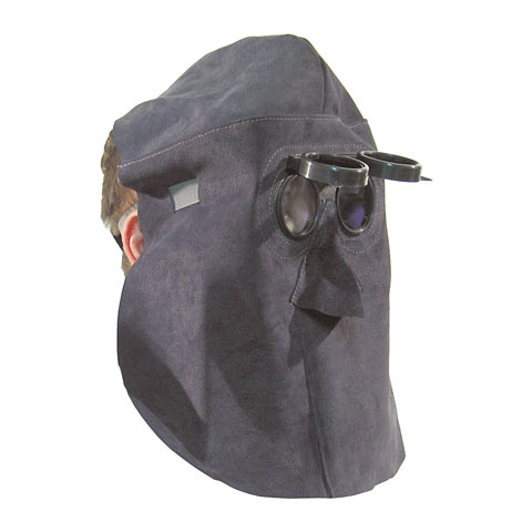 Schutzhaube mit Klappbrille, ohne Kopfband, dia. 50 mm