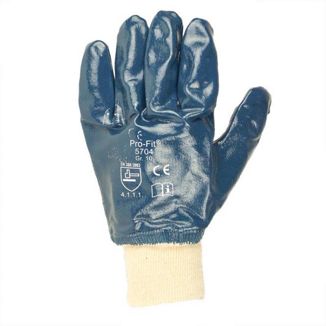 Nitrilhandschuh blau, Gr. 10