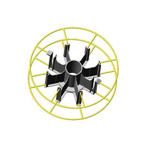 Adapter f. Korbspule 15 kg (Type 2)