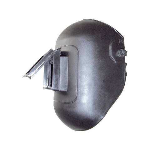 Kopfschild mit Klapprahmen, Kunststoff