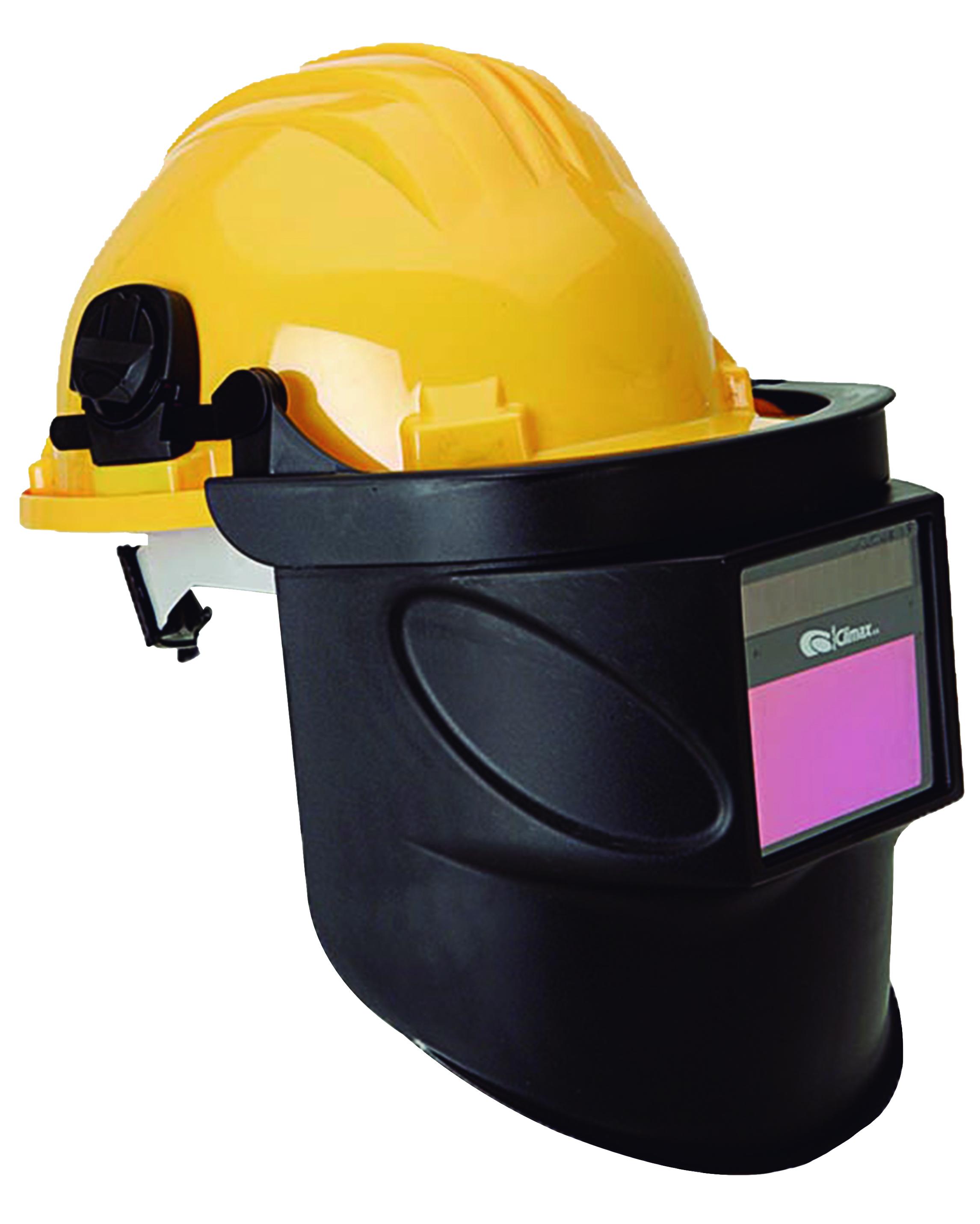 Automatik-Maske mit Halterung (ohne Helm)