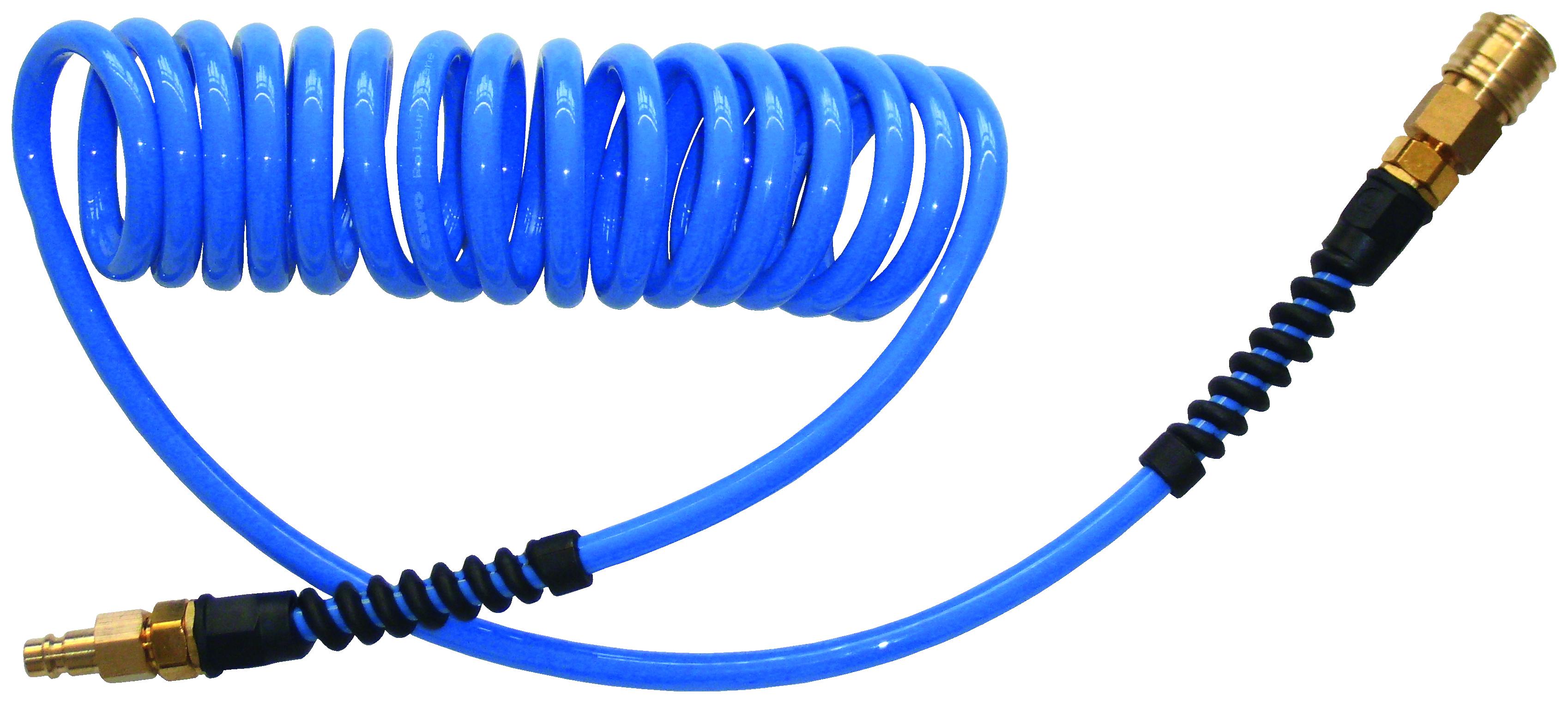 Spiralschlauch PU, 10x6,5, 7,5 m