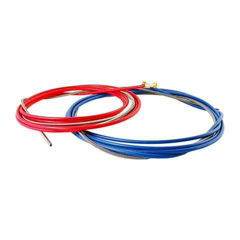 Drahtspirale blau 4 m